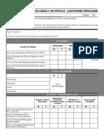 Aking Csc Survey Form