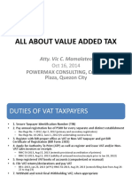 ALL ABOUT VALUE ADDED TAX- mamalateo 2014POWERMAX.pptx