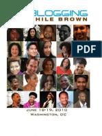Blogging While Brown Program Book Scribd