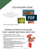Antibiotic in Biliary Stone