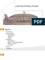 Monetary and Fiscal Policy1