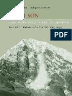 Hanh Son - Relativity - Motion Mountain in Vietnamese