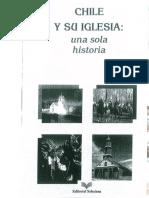 """Chile, """"Chile y su iglesia, una sola historia (1540 - 1990)"""""""