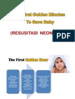 Resusitasi Neonatus IDAI 2013