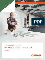 201708 Osram Catalogo Essentials Verano 2017