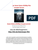 Telecharger Seven Sisters DVDRip Film Complet Torrent