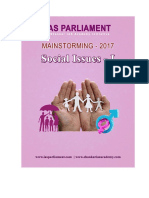 IAS Parliament Social Issues Part I