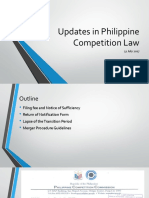 Updates to PH Competition Law 31 July 2017