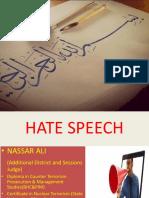 HATE SPEECH Presentation (2)