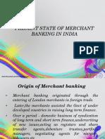 Merchant Banking Present State