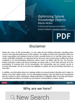 Conf2015 MMueller Consist Deploying OptimizingSplunkKnowledge