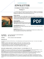 benefice newsletter  trinity 9 13 08 17