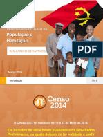 Censo 2014 Angola