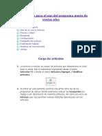 Manual comercial de codigo de barras