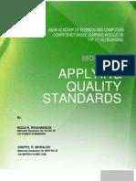Module 7 Applying Quality Standards