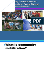 Community Mobilizationfordevelopment