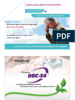 DBC - 24 - Herbal Product for Type-II diabetes by Tulip Lab Pvt Ltd
