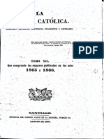 "Chile, ""Revista Católica (1865-1866)"""