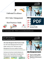 2012 Sales Management Best Practices Guide