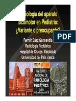 17-Radiografía Ósea Pediátrica. Variante o Preocupante.