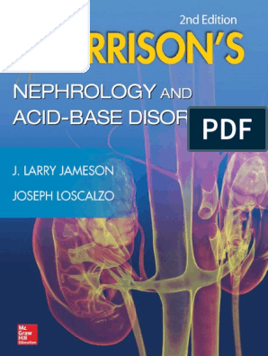 Harrison's Nephrology and Acid-Base Disorders, 2nd Edition