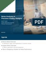 06-01-16 Noise Analysis Webcast