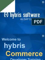 Hybris Commerce Developer Training 1.01 - Overview
