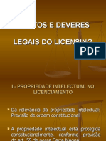 Power Point - Direitos e Deveres Legais Do Licensing