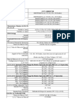 Especificaciones UPS