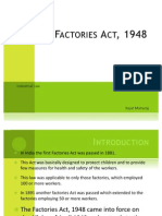 The Factories Act, 1948 (NEW)