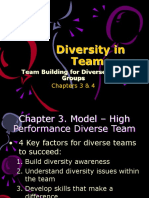 Capters 3 & 4-Team Building for Diverse Work Groups - Copy