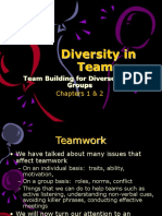 Chapters 1 & 2-Team Building for Diverse Work Groups - Copy