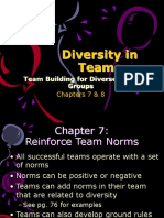 Chapters 7 & 8-Team Building for Diverse Work Groups - Copy.ppt