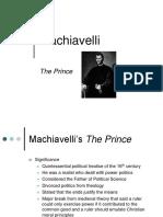 Machiavelli Ppt