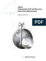 Fundamentals of RF and microwave Noise Figure Measurements - Application Note 57 5952-8255E