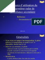 DA30 Utilisation Du Transpondeur