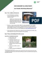 Cordwood Workshop 20140520