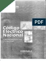 Codigo Electrico Nacional Covenin 200-2004