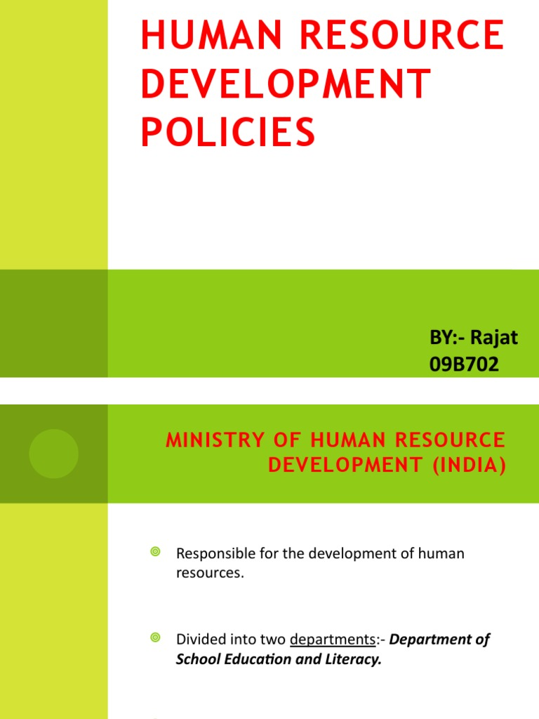 has the development of human resource Moi university, school of human resource development, department of development studies, po box 3900-30100, eldoret, kenya abstract: various attempts have been made towards tracing the.