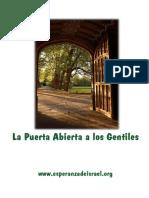 157. La Puerta Abierta a Los Gentiles