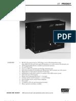 AMX Prodigy Install Manual