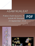 Bahan Kuliah Asam Nukleat 25 September 2015