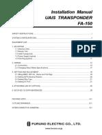 FA150 Installation Manual