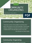 Community Organizing Report