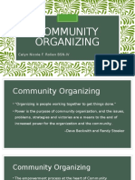 Community Organizing Report