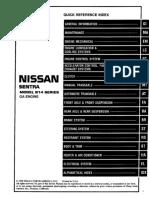1999 NISSAN SENTRA GA Service Repair Manualpdf