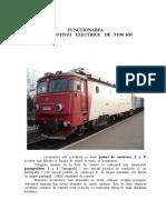 Functionarea Locomotivei Electrice de 5100 KW