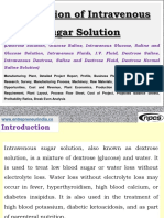 Production of Intravenous Sugar Solution (Dextrose Solution, Glucose Saline, Intravenous Glucose, Saline and Glucose Solution, Intravenous Fluids, I.V. Fluid, Dextrose Saline, Intravenous Dextrose, Saline and Dextrose Fluid, Dextrose Normal Saline Solution) Manufacturing Plant, Detailed Project Report, Profile, Business Plan, Industry Trends, Market Research, Survey, Manufacturing Process, Machinery, Raw Materials, Feasibility Study, Investment Opportunities, Cost and Revenue, Plant Economics, Production Schedule, Working Capital Requirement, Plant Layout, Process Flow Sheet, Cost of Project, Projected Balance Sheets, Profitability Ratios, Break Even Analysis