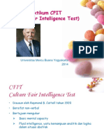 Praktikum Tes CFIT