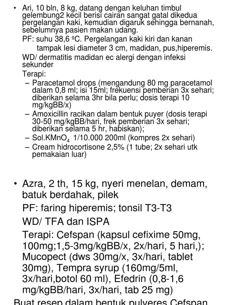 Pbl Diskusi Obat Cair Tempra Syrup 60ml